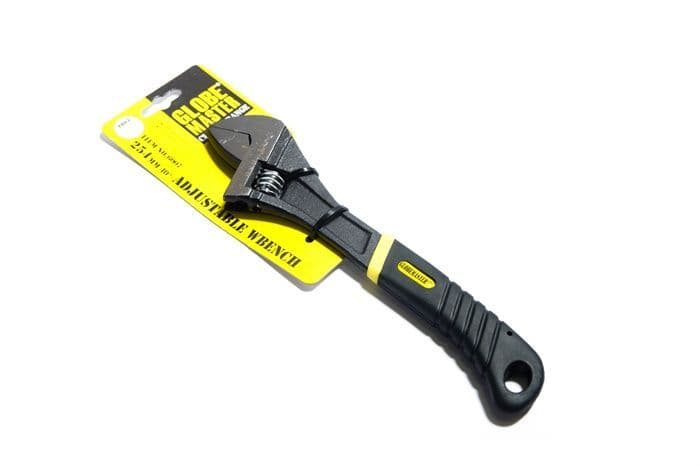 "Globemaster Non Slip Adjustable Wrench - 254mm(10"")"